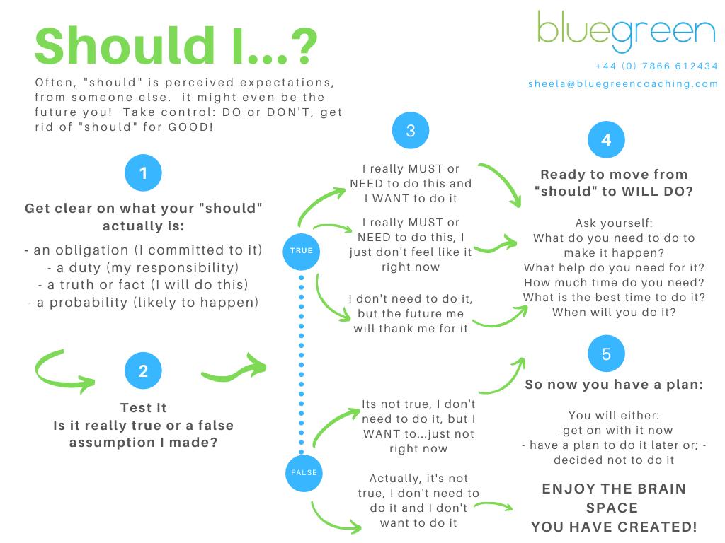 Sheela Hobden www.bluegreencoaching.com Should Coaching